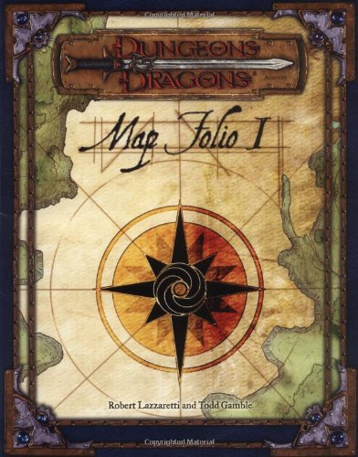 9780786931354: Dungeons and Dragons Map Folio: Pack 1 (Dungeons & Dragons)
