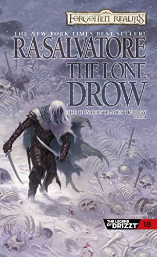 The Lone Drow (The Hunter's Blades Trilogy, Book 2) (Drizzt 5: The Hunter's Blade Trilogy)