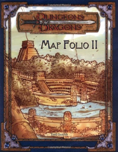 9780786932801: Map Folio II (Dungeons & Dragons Accessory)