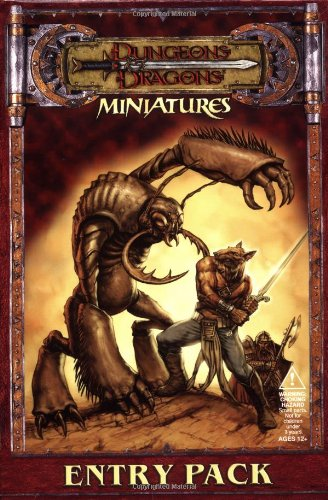9780786933167: Dungeons & Dragons Miniatures: Entry Pack