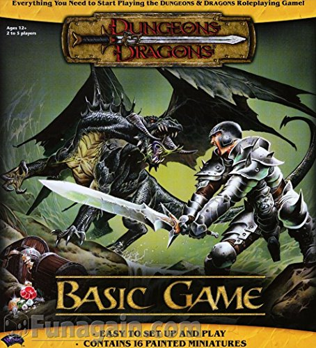 9780786934096: Dungeons and Dragons: Basic Game (Dungeon & Dragons Roleplaying Game: Core Rules)