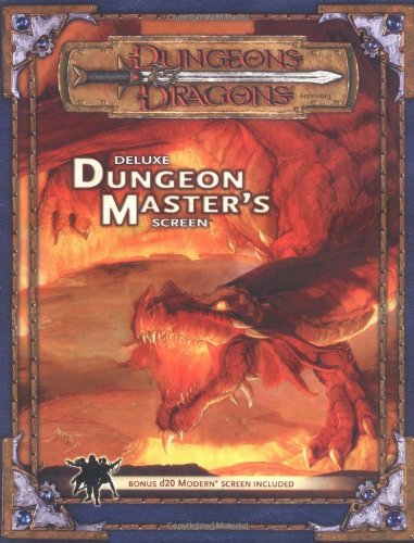 9780786934225: Dungeons & Dragons Deluxe Dungeon Master's Screen