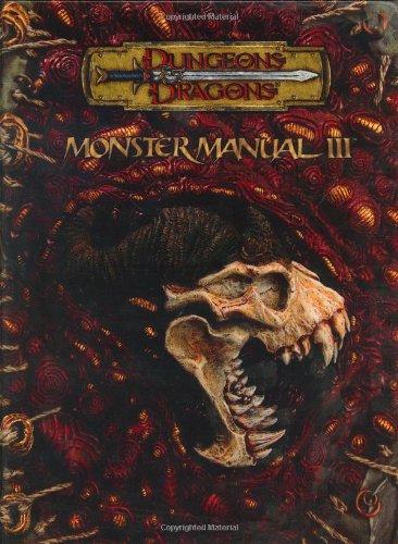 9780786934300: Dungeons & Dragons Monster Manual III