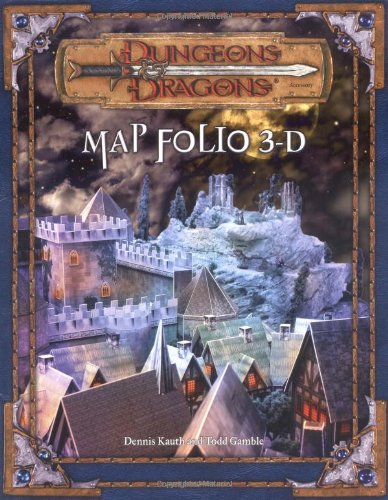 9780786934379: Dungeons and Dragons Map Folio 3-D (Dungeons & Dragons)