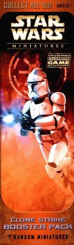 9780786934799: Clone Strike Booster Pack (Star Wars Miniatures)