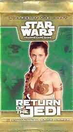 9780786935178: Star Wars TCG: Return Of The Jedi Booster Pack [Game] by