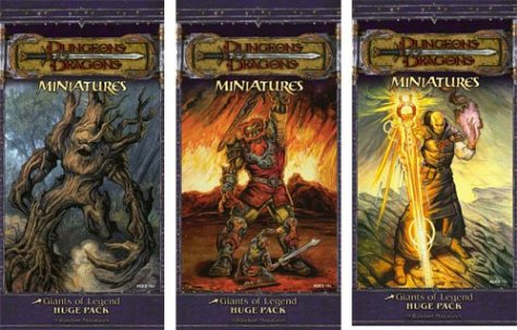 9780786936496: Dungeons and Dragons Miniatures: Giants of Legend Huge Pack