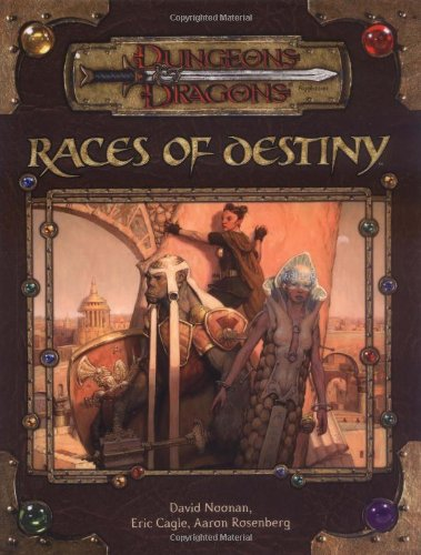 9780786936533: Races Of Destiny