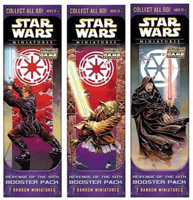 9780786936656: Revenge of the Sith Booster Pack (