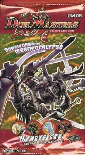 9780786936809: Duel Masters TCG: Survivors Of The Megapocalypse Booster Blister Pack