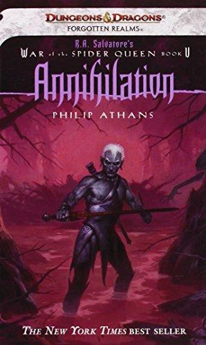 9780786937523: Annihilation (War of Spider Queen) (War of Spider Queen S.)