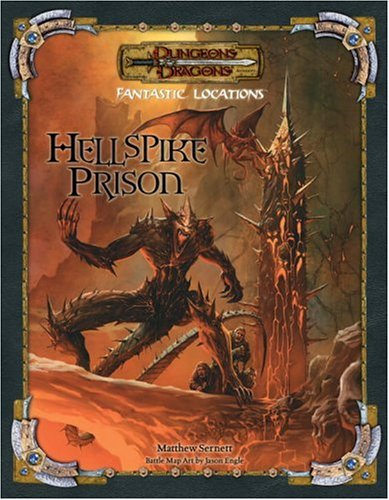 9780786938483: Fantastic Locations: Hellspike Prison (Dungeons & Dragons)