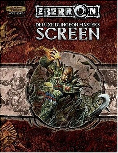 Deluxe Eberron Dungeon Master's Screen (Dungeons & Dragons d20 3.5 Fantasy Roleplaying, ...