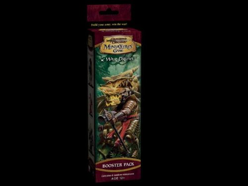 9780786938858: Game War Drums Booster (Dungeons & Dragons Miniatures)
