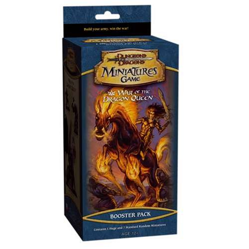 9780786938872: D&D War of the Dragon Queen: Booster Pack (D&D Miniatures Accessories)