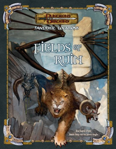 9780786939084: Fantastic Locations: Fields of Ruin (D&D Accessory)