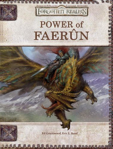 9780786939107: Power of Faerun (Dungeons & Dragons d20 3.5 Fantasy Roleplaying, Forgotten Realms Supplement)