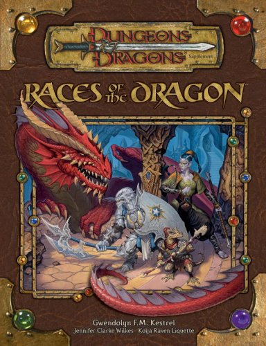 Races of the Dragon (Dungeons & Dragons d20 3.5 Fantasy Roleplaying Supplement): Kestrel, ...