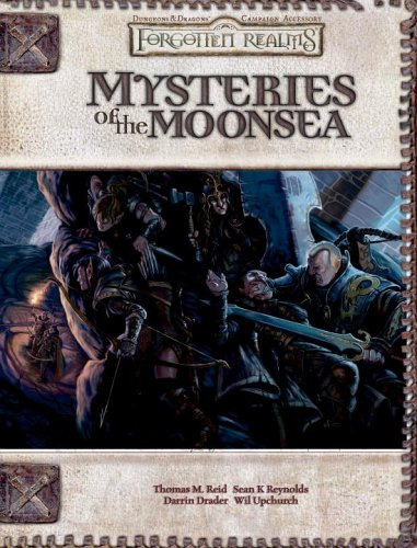 9780786939152: Mysteries of the Moonsea