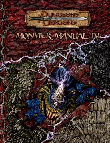 9780786939206: Monster Manual IV (Dungeons & Dragons d20 3.5 Fantasy Roleplaying) (v. 4)