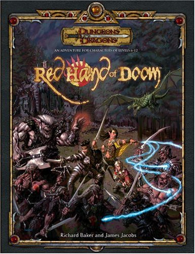 9780786939381: The Red Hand of Doom (Dungeons & Dragons d20 3.5 Fantasy Roleplaying Adventure)
