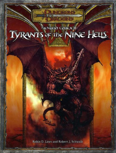 9780786939404: Fiendish Codex 2: Tyrants of the Nine Hells (Dungeons & Dragons)
