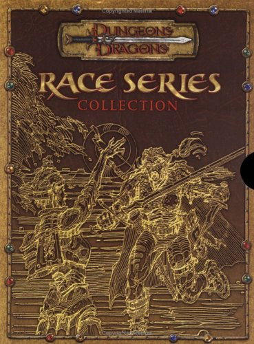9780786939411: Race Series Collection (Dungeons & Dragons d20 3.5 Fantasy Roleplaying, 3 Book Slipcased Set)