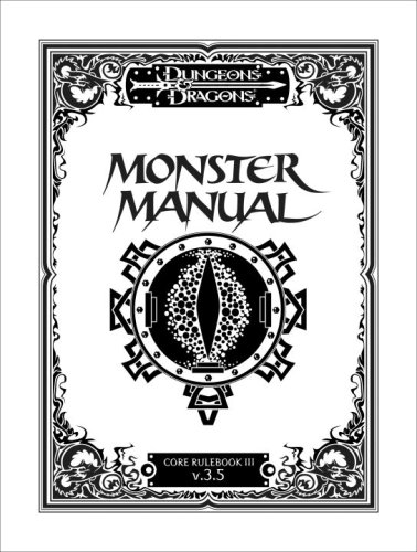 9780786939435: Monster Manual: 3.5 (Dungeons & Dragons)