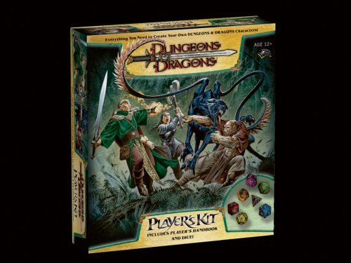 9780786939459: Dungeons & Dragons Players Kit (D&D Boxed Game)