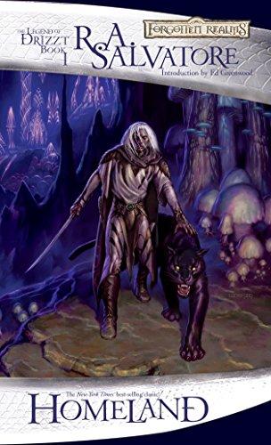 9780786939534: Homeland: The Legend of Drizzt (The Dark Elf Trilogy)