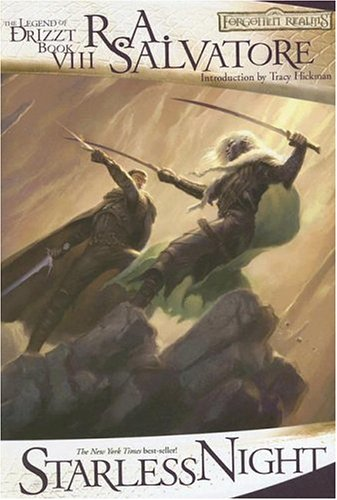 9780786940233: Starless Night: The Legend of Drizzt Book 8