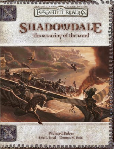 9780786940394: Shadowdale: The Scouring of the Land (Forgotten Realms)