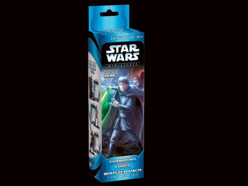 9780786940417: Champions of the Force Booster Pack (Star Wars Miniatures)