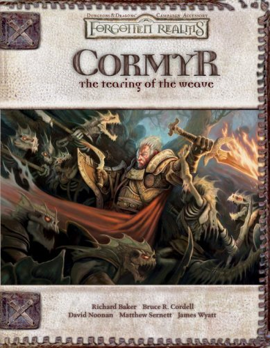 9780786941193: Cormyr: The Tearing of the Weave (Dungeons & Dragons d20 3.5 Fantasy Roleplaying, Forgotten Realms Supplement)