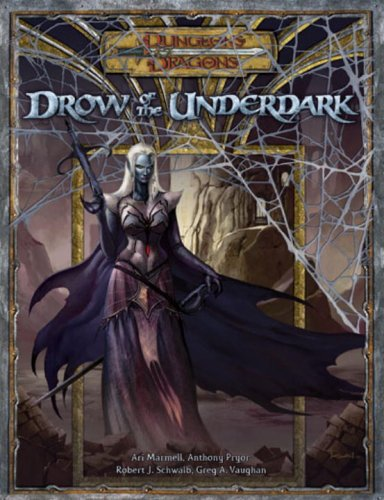 9780786941513: Drow of the Underdark: Supplement (Dungeons & Dragons)