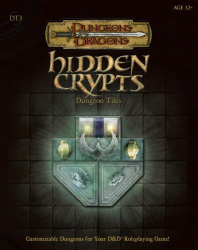 9780786941568: Hidden Crypts Dungeon Tiles, Set 3 (Dungeons & Dragons Accessory)
