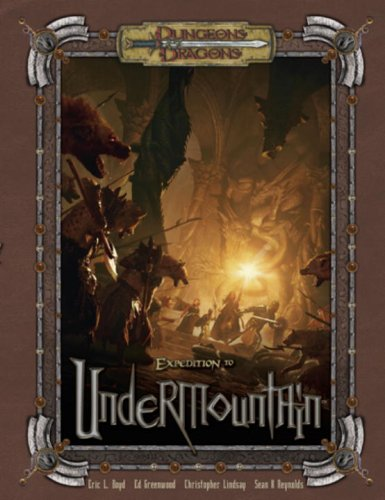 9780786941575: Expidition to Undermountain: Campaign Adventure