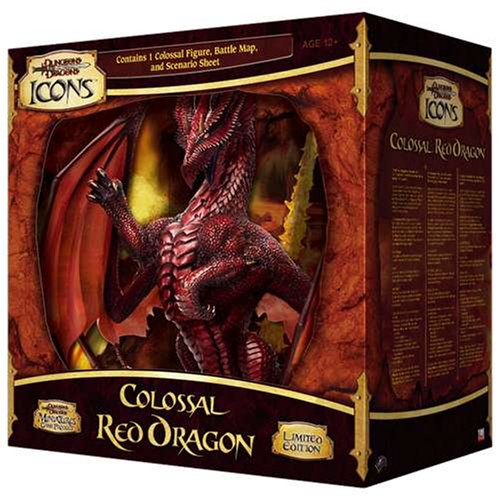 9780786941681: Colossal Red Dragon (Dungeons & Dragons Icons Miniatures Game Product)