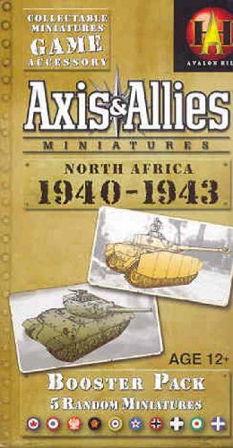 9780786941889: Axis & Allies Miniatures: North Africa 1940-1943