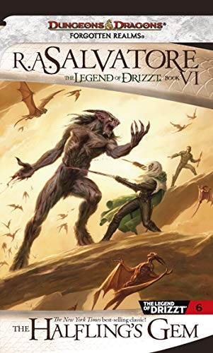 9780786942893: The Halfling's Gem (The Legend of Drizzt, Book VI)