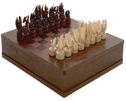 9780786943111: Dungeons & Dragons Chess Set