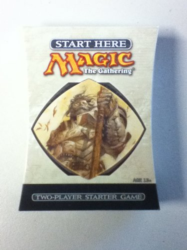 9780786943241: Magic, the Gathering: Two-Player Starter Game, 10th Edition
