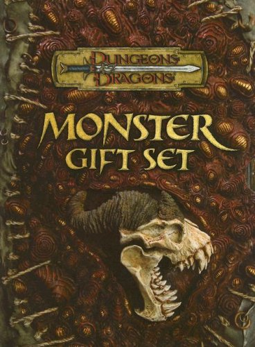 9780786943470: Dungeons & Dragons Monster Gift Set: Fiend Folio, Monster Manual II and Moster Manual III