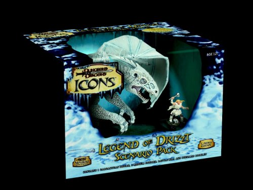 9780786943500: THE Legend of Drizzt Scenario Pack (Dungeons & Dragons Icons)