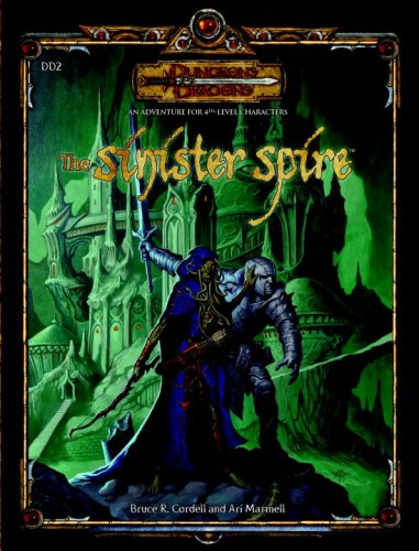 9780786943579: The Sinister Spire (Dungeons & Dragons d20 3.5 Fantasy Roleplaying Adventure, 4th Level)
