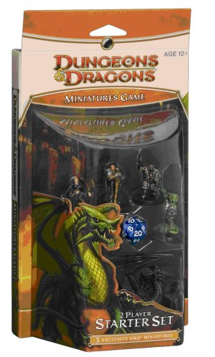 "9780786947546: D&d Miniatures Game Starter (D&d Miniatures Product) (""Dungeons & Dragons"" Miniatures)"