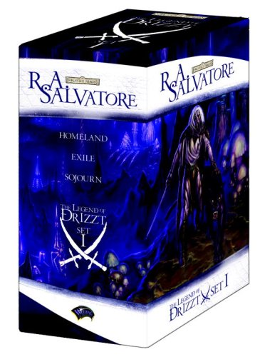 9780786947775: The Legend of Drizzt Boxed Set, Books I-III (Set 1, Bks. 1-3)