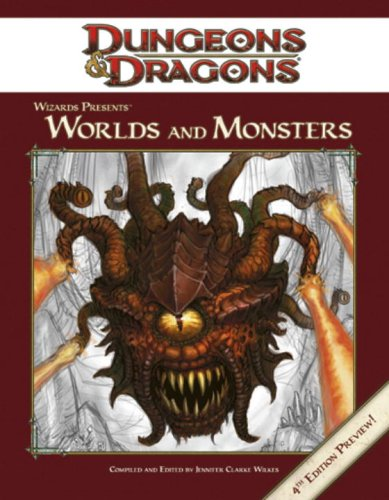 9780786948024: Wizards Presents: Worlds and Monsters (Dungeons & Dragons)