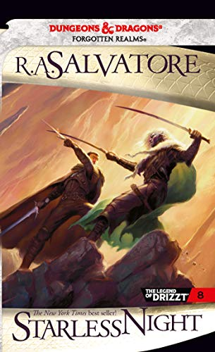 9780786948611: Starless Night: The Legend of Drizzt, Book VIII