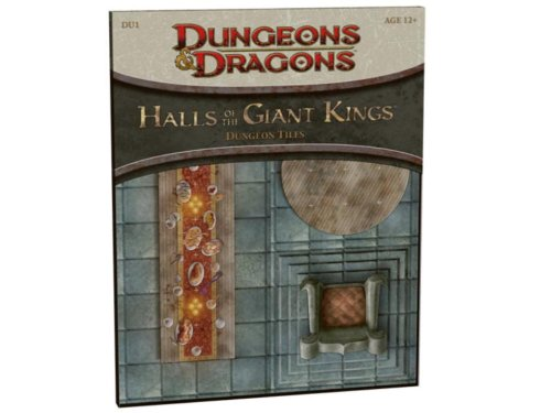 9780786948734: Halls of the Giant Kings: DU1 - Dungeon Tiles (D&D Accessory)